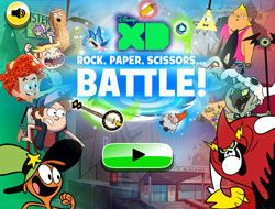 Disney XD: Rock Paper Scissors Battle