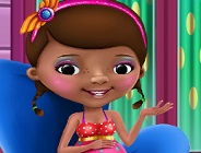 Doc McStuffins at Spa Salon