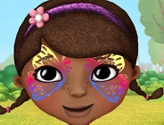 Doc McStuffins Face Paint
