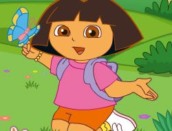 Dora and the Magic Paintbrush