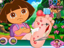 Dora Foot Injury