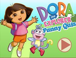 Dora The Explorer Funny Quiz
