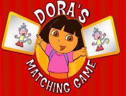 Doras Matching Game