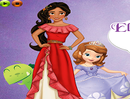Elena of Avalor and Sofia the First Puzzle