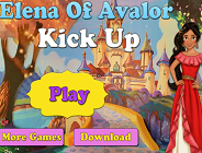 Elena of Avalor Kick Up