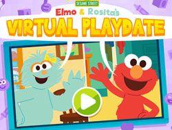 Elmo and Rosita's Virtual Playdate
