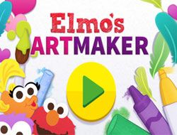 Elmos Art Maker Pizza
