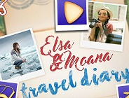 Elsa and Moana Travel Diary
