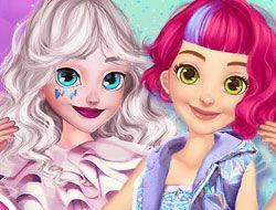 Elsa and Rapunzel Future Fashion