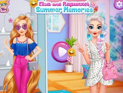 Elsa and Rapunzel Summer Memories