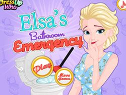 Elsas Bathroom Emergency