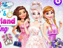 Elsas Wonderland Wedding