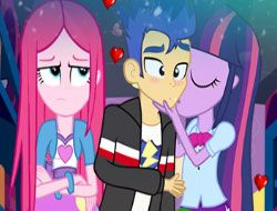 Equestria Girls Secret Kiss