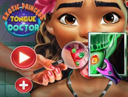 Exotic Princess Tongue Doctor