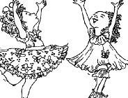 Fancy Nancy Coloring Game