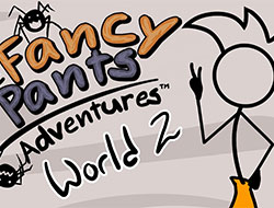 Fancy Pants Adventure: World 2