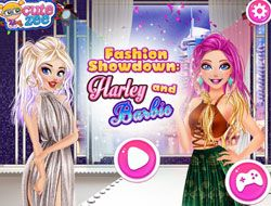 Fashion Showdown Barbie And Harley