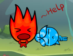 Fireboy and Water Girl Island Survive