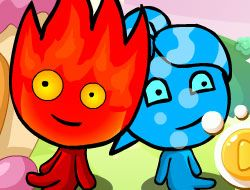 Fireboy and Watergirl Forest Home