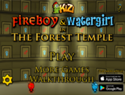 Fireboy and Watergirl Forest Temple 1
