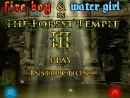 Fireboy and Watergirl Forest Temple Again