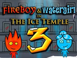 Fireboy and Watergirl in The Ice Temple 3