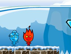 Fireboy and Watergirl Winter Adventure