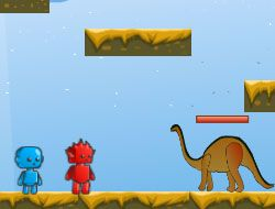 Fireboy Watergirl In Dino World