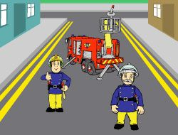Fireman Sam Make a Picture