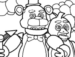 FIVE NIGHTS AT FREDDY'S COLORING - FIVE NIGHTS AT FREDDY'S ...