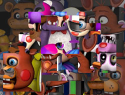 Five Nights at Freddy's Puzzle