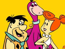 Flintstones Coloring