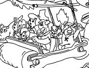 Flintstones Online Coloring
