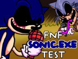 FNF Sonic.EXE Test