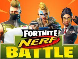 Fortnite Nerf Battle