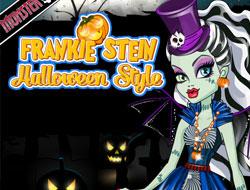 Frankie Stein Halloween Style