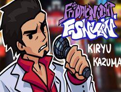 Friday Night Funkin Kiryu Kazuma Skin