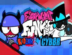 Friday Night Funkin VS RidZak + Cybrr