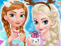 Frozen Sisters Cozy Time