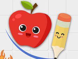 Fruit Escape Draw Line