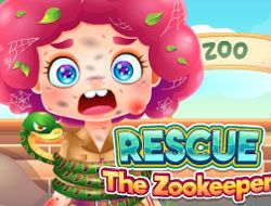 Funny Rescue The Zookeeper