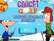 Gadget Golf: Winter Holiday Edition