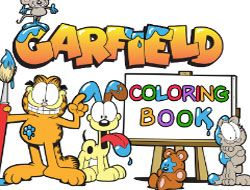 Garfield Coloring Book