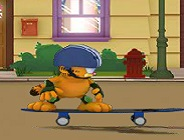 Garfield on Wheels