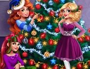 Girls Christmas Tree Deco