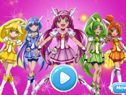 Glitter Force Bejeweled