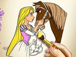 Goldie Princess Coloring Book