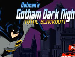 Gotham Dark Knight Total Blackout