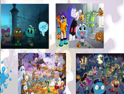 Halloween Monster Puzzle