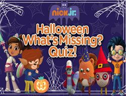 Halloween Whats Missing Quiz